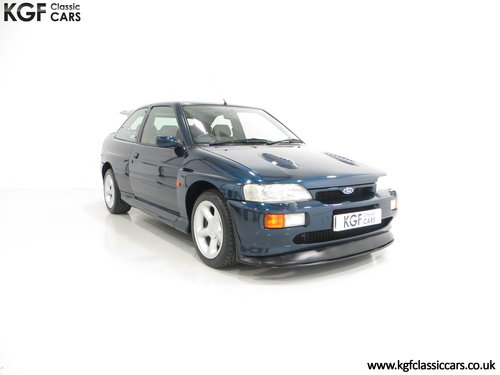 1995 An Exceptional Ford Escort RS Cosworth with 25,933 Miles SOLD (picture 1 of 6)