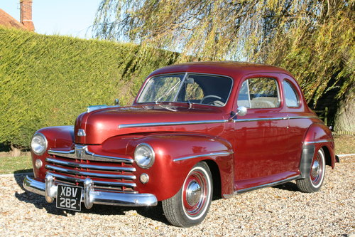 1948 Ford Super Deluxe V8 Coupe. NOW SOLD, MORE  Wanted (picture 1 of 6)