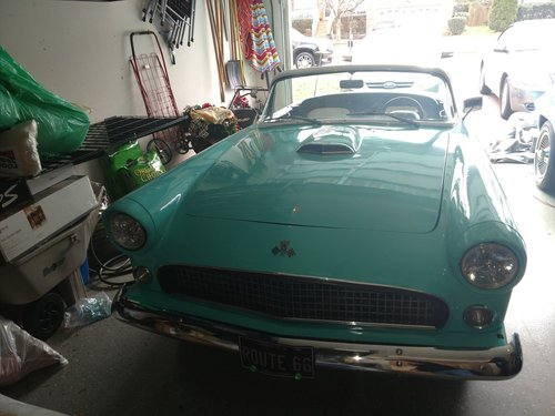 1955 Ford SHAY Thunderbird Convertible Replica For Sale (picture 2 of 6)