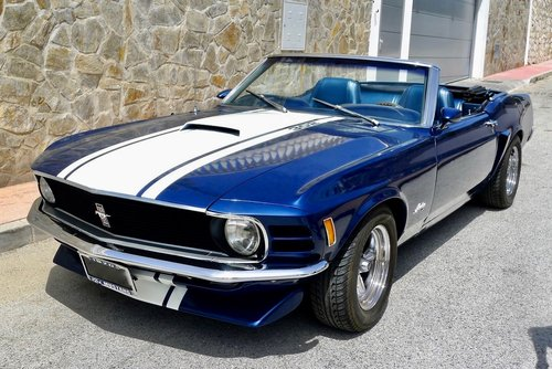 Rare 1970 Ford Mustang 302 Convertible Muscle Car For Sale (picture 1 of 6)