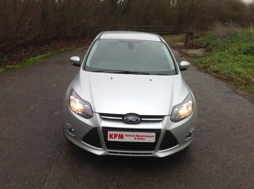 2013 Ford Focus 1.6 TDCI Zetec for sale  For Sale (picture 1 of 6)