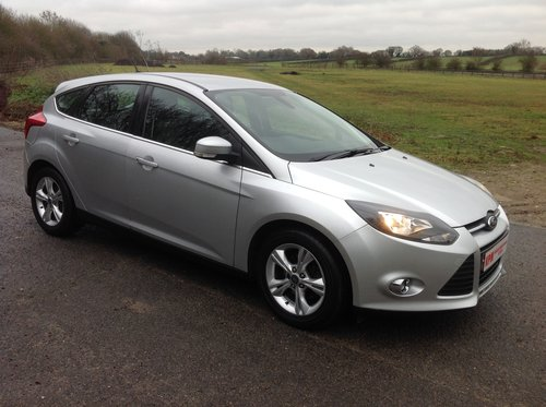 2013 Ford Focus 1.6 TDCI Zetec for sale  For Sale (picture 2 of 6)