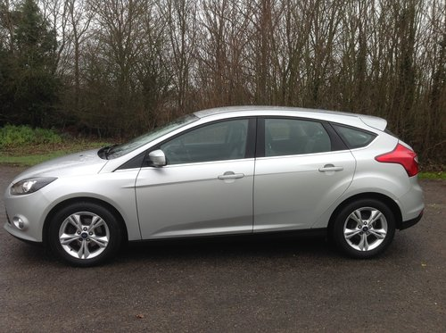 2013 Ford Focus 1.6 TDCI Zetec for sale  For Sale (picture 3 of 6)