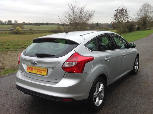 2013 Ford Focus 1.6 TDCI Zetec for sale  For Sale (picture 5 of 6)