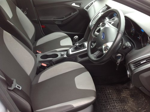 2013 Ford Focus 1.6 TDCI Zetec for sale  For Sale (picture 6 of 6)