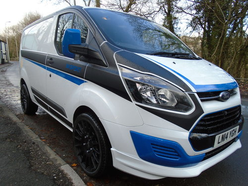 878c89be4e ... 2014 FORD TRANSIT CUSTOM WITH M SPORT STYLING 1 OWNER For Sale (picture  1 of ...