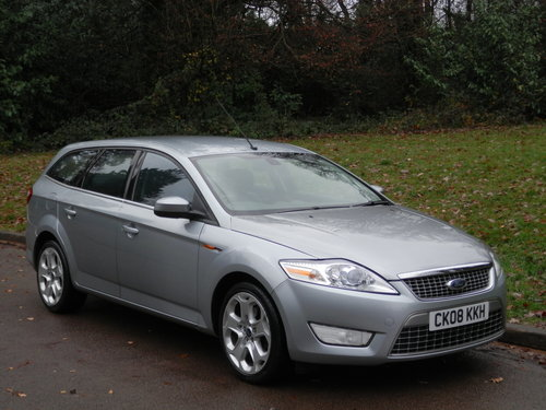 2008 Ford Mondeo Titanium X TDCi 140.. Estate.. Bargain To Clear. SOLD (picture 1 of 6)