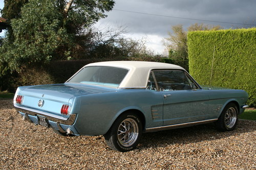 1966 Ford Mustang 289 V8 Auto. Exceptional . Now Sold...More Wanted (picture 5 of 6)