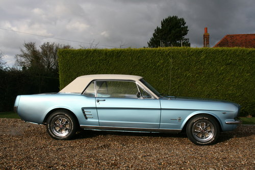 1966 Ford Mustang 289 V8 Auto. Exceptional . Now Sold...More Wanted (picture 6 of 6)