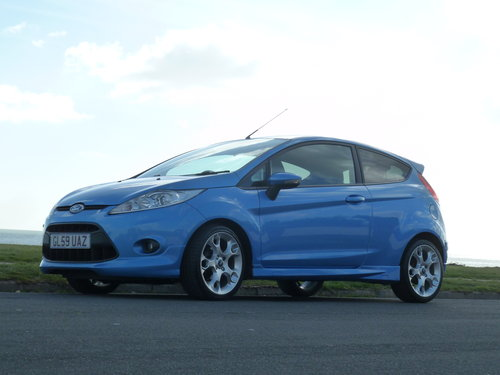 2009 FIESTA 1.6TDCi 90pS ZETEC S 3DR AIR CON £20 ROAD TAX For Sale (picture 6 of 6)