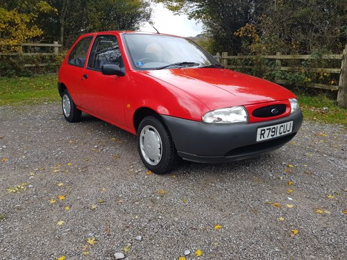 1998 FORD FIESTA  one owner For Sale (picture 1 of 4)