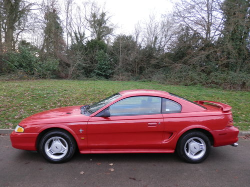 Ford Mustang 3.8 V6.. Automatic.. LHD / Left Hand Drive SOLD (picture 1 of 6)