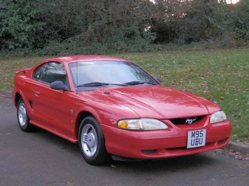 Ford Mustang 3.8 V6.. Automatic.. LHD / Left Hand Drive SOLD (picture 2 of 6)