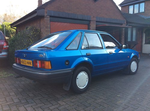1990 Beautiful Mk4 Ford Escort Bonus 90, Cheshire For Sale (picture 1 of 6)