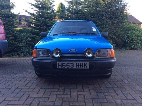 1990 Beautiful Mk4 Ford Escort Bonus 90, Cheshire For Sale (picture 3 of 6)