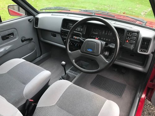 1989 FORD FIESTA GHIA MK2 JUST 7,900 MILES STUNNING!! SOLD (picture 6 of 6)