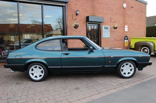 1987 Ford Capri 280 Brooklands SOLD (picture 2 of 6)