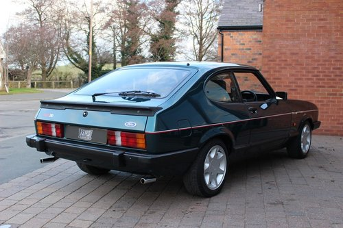 1987 Ford Capri 280 Brooklands SOLD (picture 3 of 6)