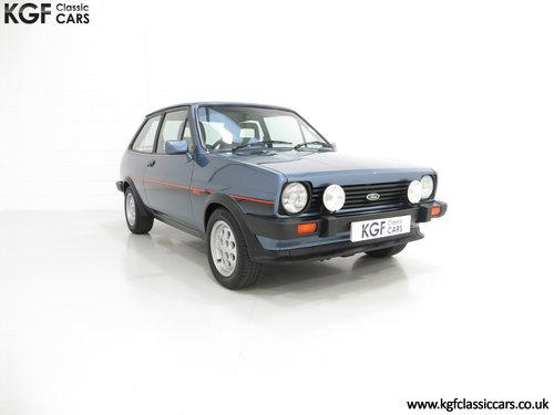 1983 A Sensational Caspian Blue Ford Fiesta Mk1 Fiesta XR2 SOLD (picture 1 of 6)