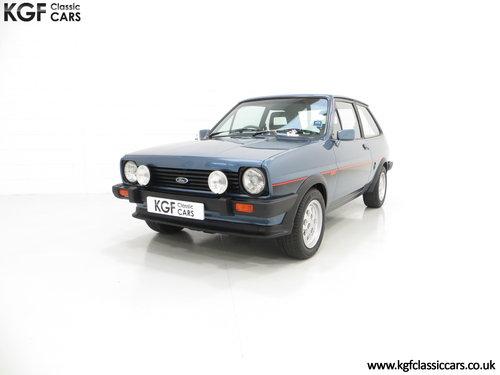 1983 A Sensational Caspian Blue Ford Fiesta Mk1 Fiesta XR2 SOLD (picture 2 of 6)