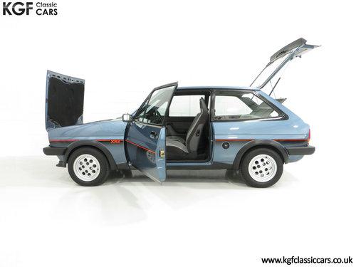 1983 A Sensational Caspian Blue Ford Fiesta Mk1 Fiesta XR2 SOLD (picture 3 of 6)