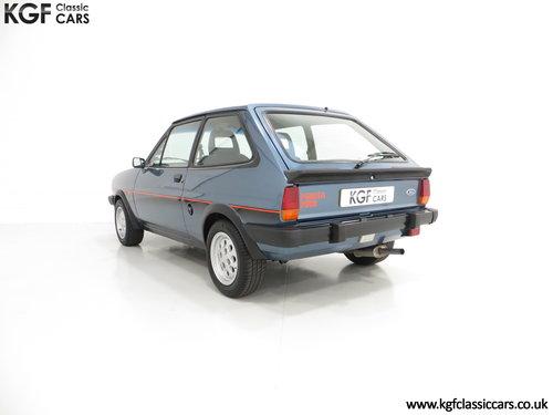 1983 A Sensational Caspian Blue Ford Fiesta Mk1 Fiesta XR2 SOLD (picture 4 of 6)