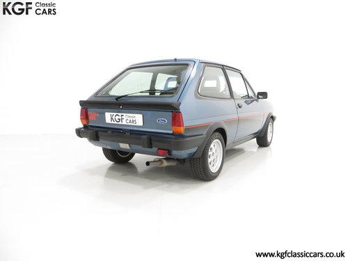 1983 A Sensational Caspian Blue Ford Fiesta Mk1 Fiesta XR2 SOLD (picture 5 of 6)