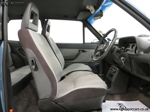 1983 A Sensational Caspian Blue Ford Fiesta Mk1 Fiesta XR2 SOLD (picture 6 of 6)