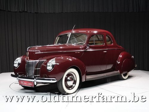 1940 Ford V8 Deluxe Business Coupé '70 For Sale (picture 1 of 6)