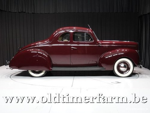 1940 Ford V8 Deluxe Business Coupé '70 For Sale (picture 3 of 6)