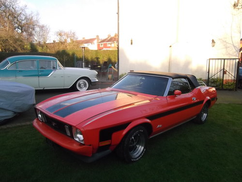 1973 Mustang Convertible 302 V8, Automatic, Power Roof,  SOLD (picture 1 of 6)