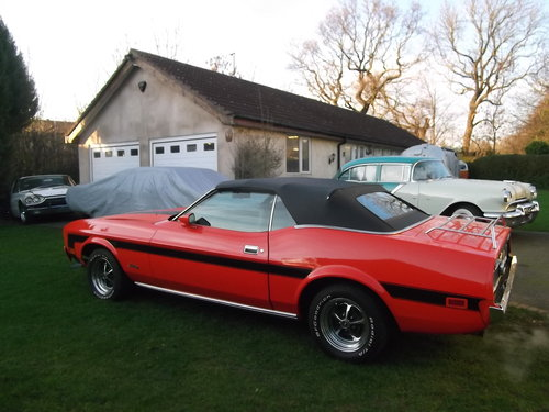 1973 Mustang Convertible 302 V8, Automatic, Power Roof,  SOLD (picture 2 of 6)