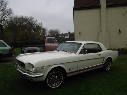 1964 1/2 Mustang Coupe 289 V8, C Code, 4 Speed Manual For Sale (picture 1 of 6)