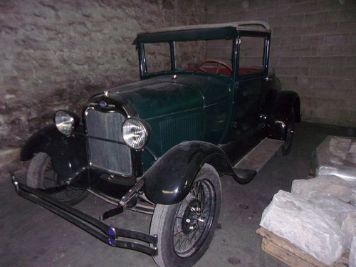 1928 Ford Model A Sport Coupe For Sale (picture 1 of 4)