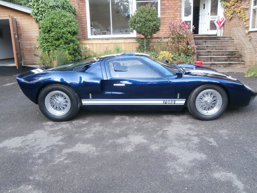 1969 Very Accurate Ford Gt40 Recreation Sold Car And Classic