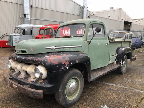 1952 Ford F3 Pick up (Now SOLD) For Sale (picture 1 of 5)