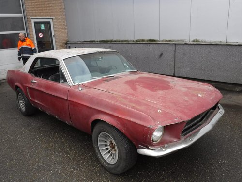 1968 Ford Mustang '68 coupé For Sale (picture 1 of 6)