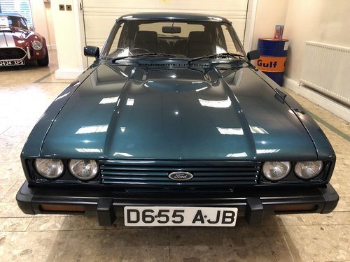 1987 Ford Capri 280 Brooklands SOLD (picture 4 of 6)