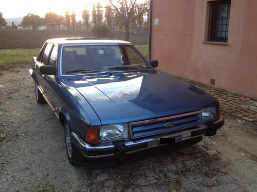 1984 Special high-spec Granada. Ex-Director Ford Italia For Sale (picture 2 of 6)