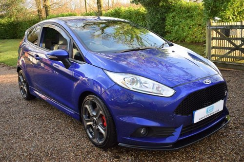 2017 Ford Fiesta ST-3 180 1-Owner Full Ford History SOLD (picture 1 of 6)