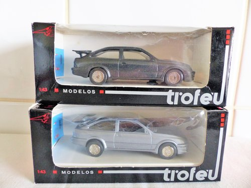 2 FORD SIERRA COSWORTHS-TROFEU SCALE MODELS For Sale (picture 4 of 6)