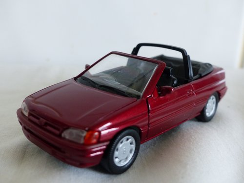 FORD ESCORT CABRIOLET-FORD DEALER ISSUE-1:43 For Sale (picture 3 of 6)