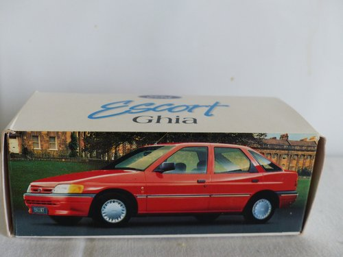 FORD ESCORT GHIA-FORD DEALER ISSUE-1:43 scale For Sale (picture 1 of 6)