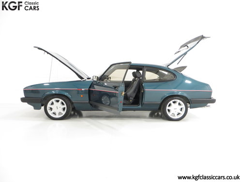 1987 A Ford Capri 280 Brooklands Build 971 with 6,212 Miles SOLD (picture 3 of 6)