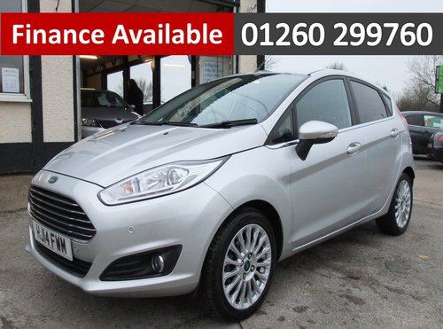 2014 FORD FIESTA 1.0 TITANIUM 5DR AUTOMATIC For Sale (picture 1 of 6)