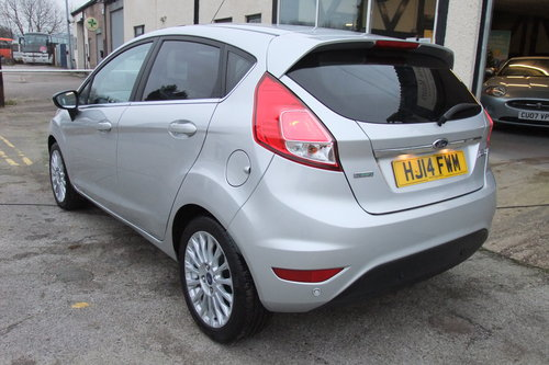 2014 FORD FIESTA 1.0 TITANIUM 5DR AUTOMATIC SOLD (picture 3 of 6)