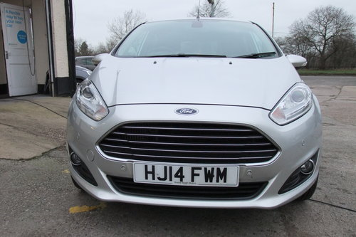 2014 FORD FIESTA 1.0 TITANIUM 5DR AUTOMATIC SOLD (picture 4 of 6)