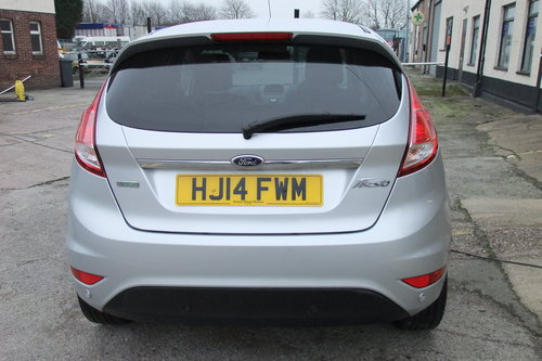 2014 FORD FIESTA 1.0 TITANIUM 5DR AUTOMATIC SOLD (picture 5 of 6)