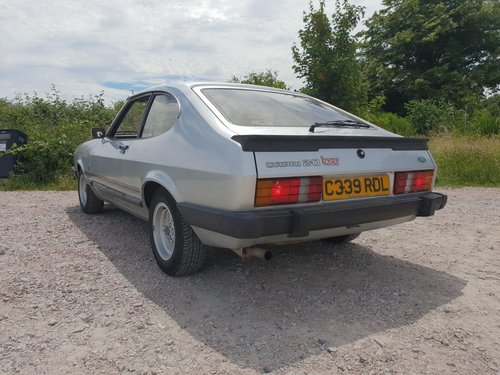 1985 Ford Capri 2.0 Laser Manual -  Full History - 39k For Sale (picture 4 of 6)
