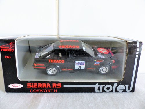 TROFEU-FORD SIERRA RS COSWORTH TEAXACO For Sale (picture 1 of 6)